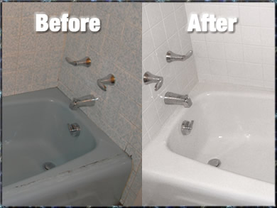 Bathtub refinishing connecticut the bath doctor about for Tub liner cost